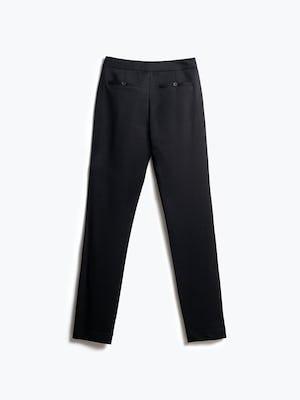 Women's Black Fusion Ponte Pant Back