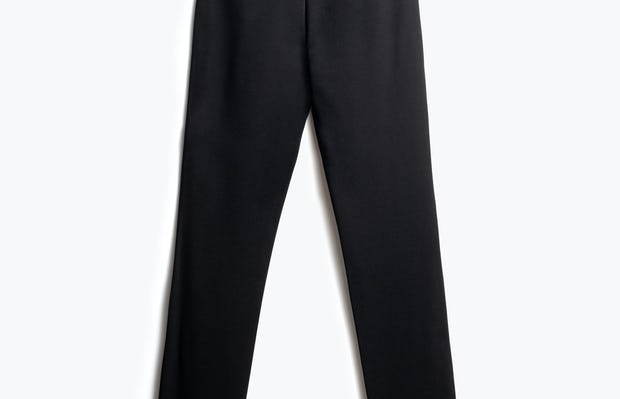 Women's Black Fusion Ponte Pant Back