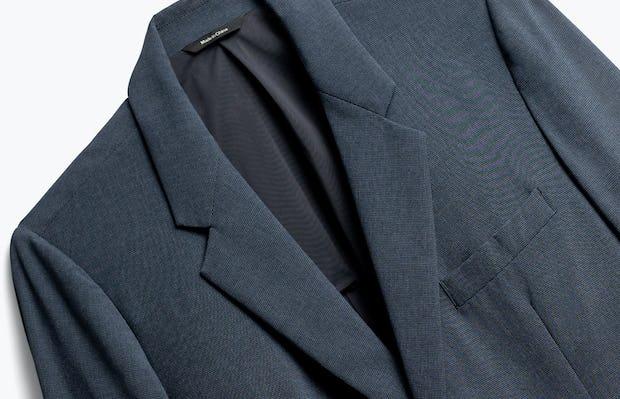 Close up of Men's Blue Houndstooth Velocity Blazer