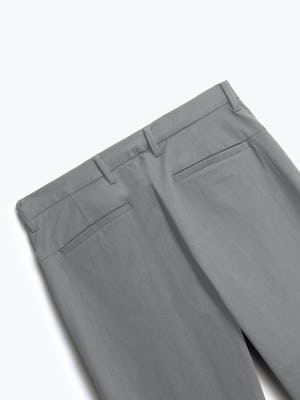 close up of men's slate grey kinetic pant shot of back