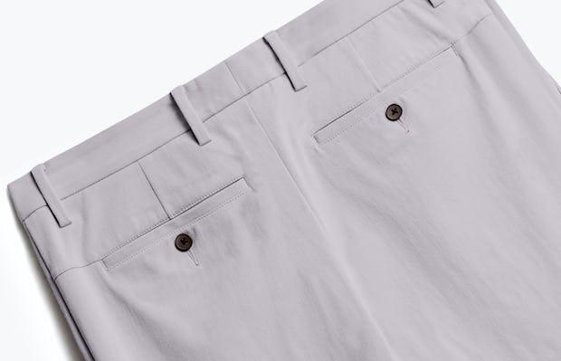 Close up of Men's Light Grey Momentum Chino Back