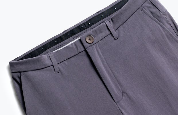 close up of men's shale men's momentum chino shot of front