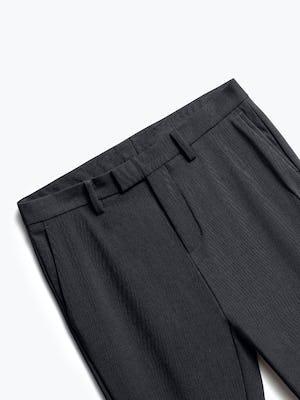 Close up of Mens Dark Charcoal Velocity Pants - Front