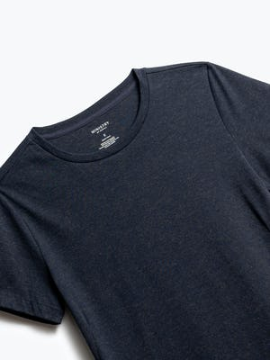 Close up of Womens Navy Composite Tee - Front
