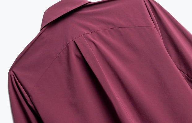 Close up of Womens Ruby Juno Blouse - Back