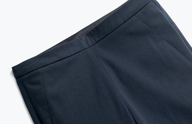 Close up of Womens Navy Kinetic Skinny Pants - Front