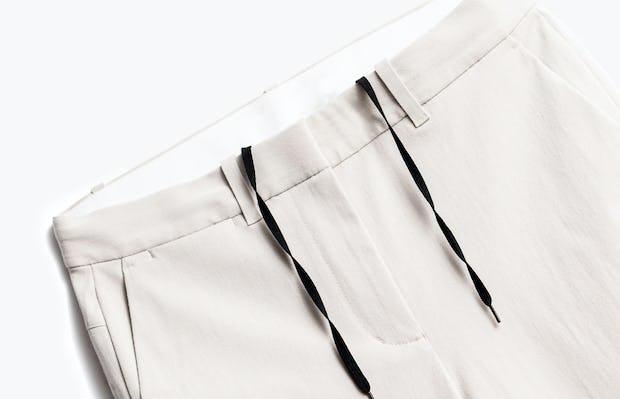Close up of Womens Light Khaki Momentum Chino - Front