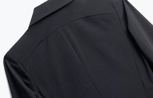Close up of Womens Black Velocity Blazer - Back