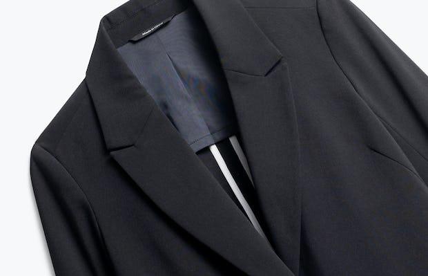 Close up of Womens Black Velocity Blazer - Front