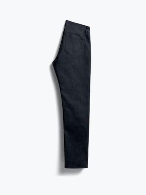 men's black chroma denim folded