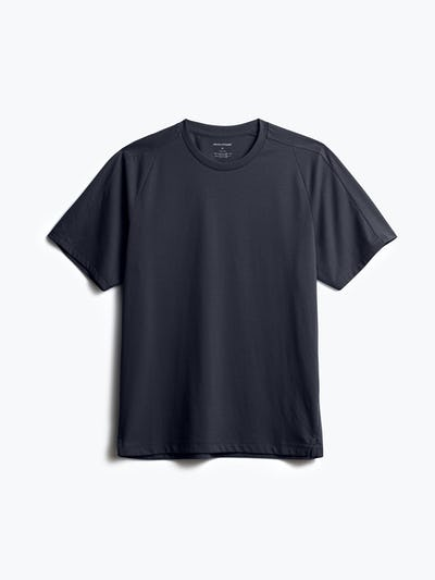 men's navy composite active tee shot of front