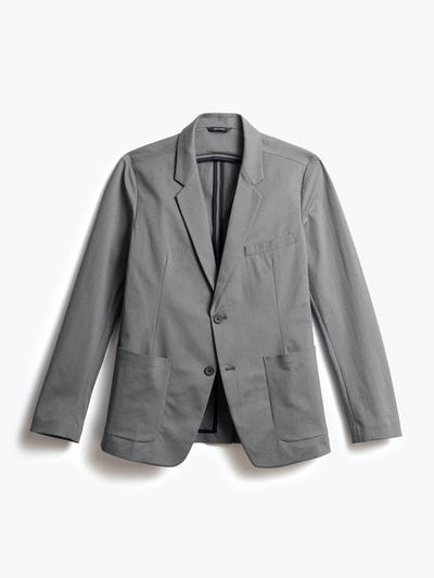 men's slate grey kinetic blazer shot of front