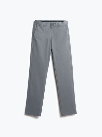 men's grey heather kinetic pant shot of front