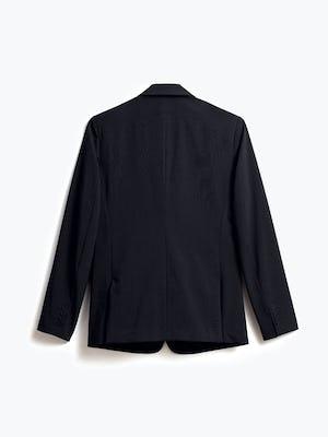 Mens Dark Black Velocity Blazer - Back