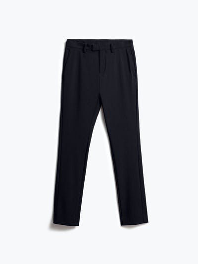 Mens Dark Black Velocity Pant - Front
