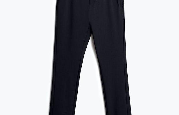 Mens Dark Black Velocity Pant - Front