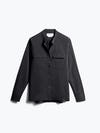 Womens Black Juno Patch Pocket Blouse - Front