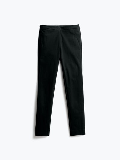 Womens Black Kinetic Skinny Pants - Front