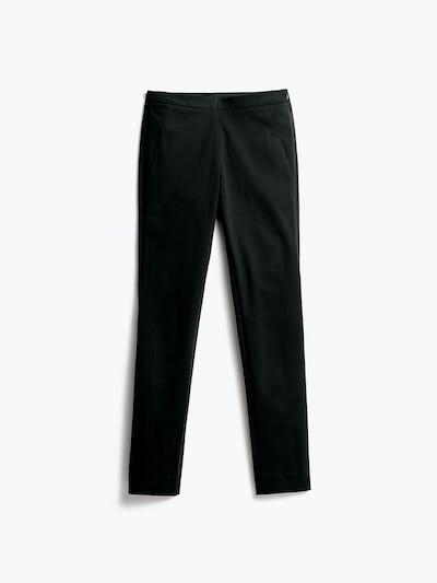 Womens Black Kinetic Skinny Pants - Front