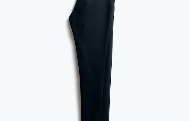 Womens Navy Kinetic Slim Pants - Back