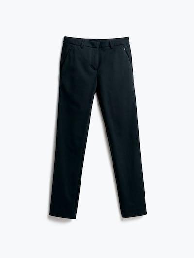 Womens Navy Kinetic Slim Pants - Front
