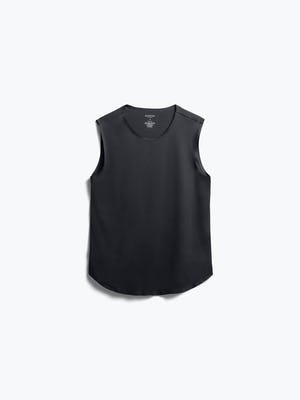 Womens Black Luxe Touch Tank - Front