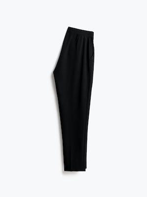 Womens Black Swift Drape Pant - Back