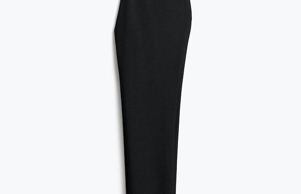 Womens Black Velocity Crop Pant - Back