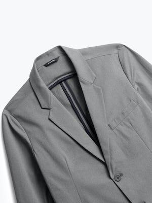 Close up of Mens Slate Grey Kinetic Blazer - Front