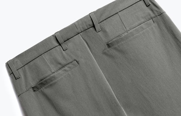 Close up of Mens Sage Momentum Chino - Back