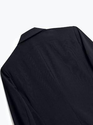 Close up of Mens Black Velocity Blazer - Back