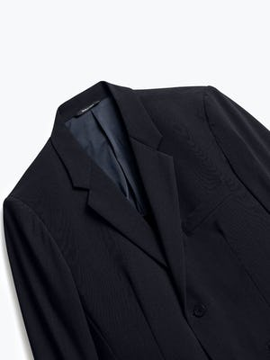 Close up of Mens Black Velocity Blazer - Front