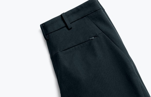 Close up of Womens Navy Kinetic Slim Pants - Back