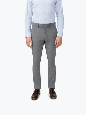 Men's Grey Velocity Pant on Model Facing forward