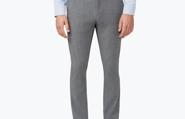 Men's Grey Velocity Pant on Model Facing forward