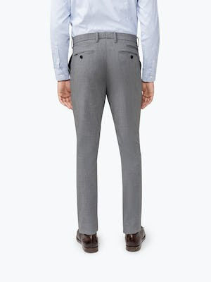 Men's Grey Velocity Pant on Model Facing backward