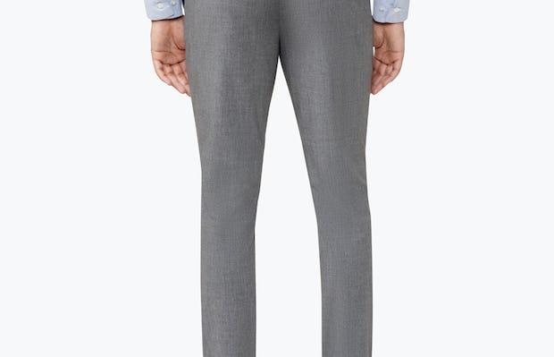 Men's Grey Velocity Pant on Model Facing backward