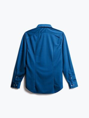 Men's Royal Blue Recycled Apollo Dress Shirt Back view