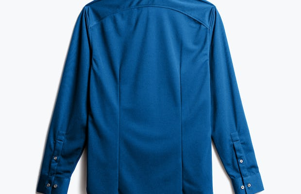 Men's Royal Blue Recycled Apollo Dress Shirt Back view
