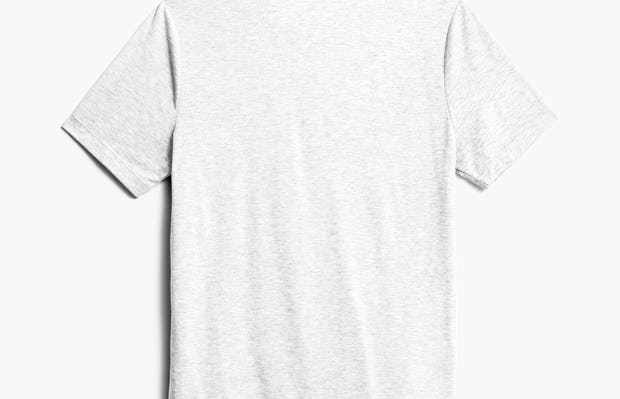 Men's Light Grey Composite Merino Tee back view