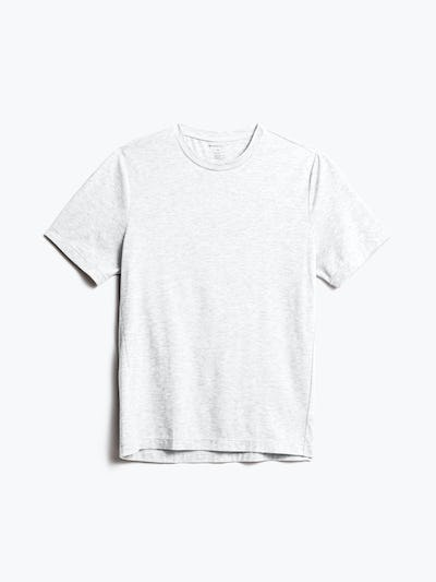 Men's Light Grey Composite Merino Tee front view