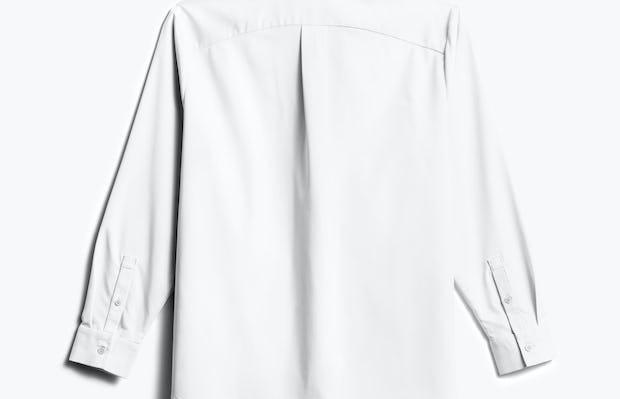 Women's White Aero Zero Boyfriend Shirt back view