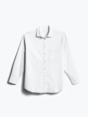 Women's White Aero Zero Boyfriend Shirt front view
