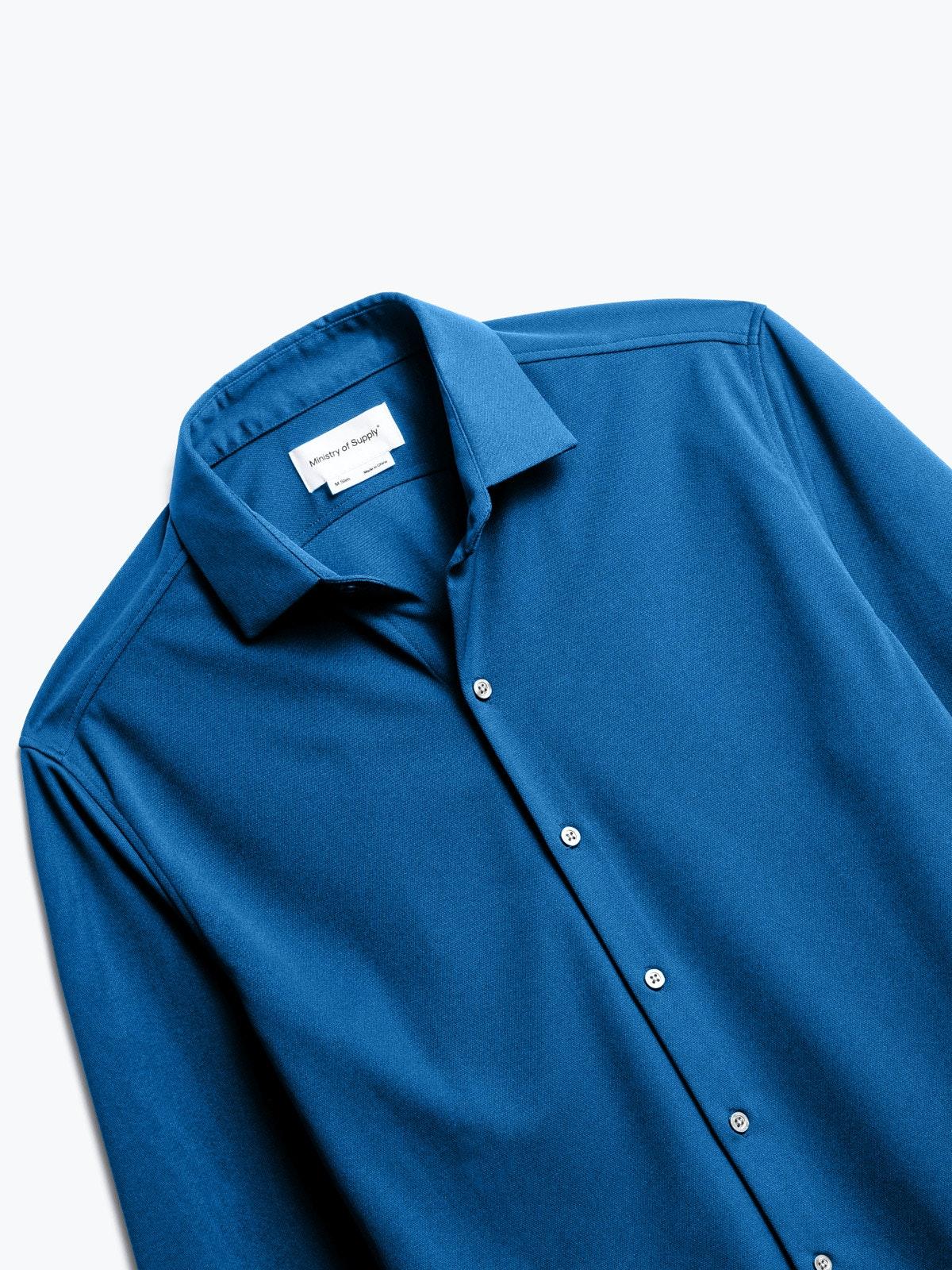 Optic Waves Short Sleeve Dress Shirt
