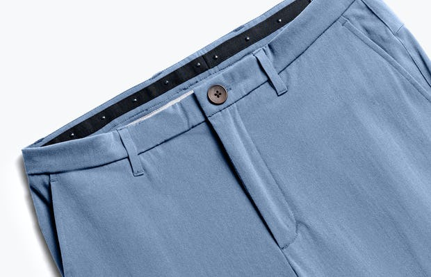 Close up of Men's Storm Blue Momentum Chino front