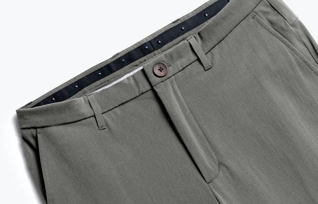 Close up of Men's Sage Momentum Chino front