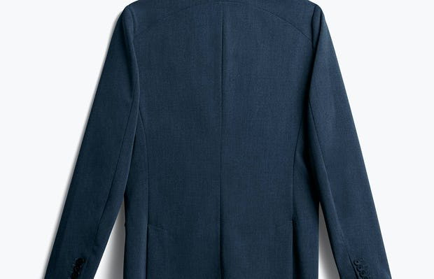 Men's Dark Navy Velocity Blazer back