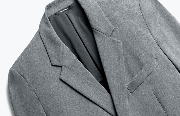 Close up of Men's Graphite Velocity Blazer Front