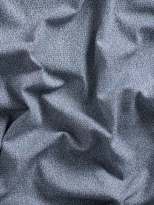 indigo static atlas fabric