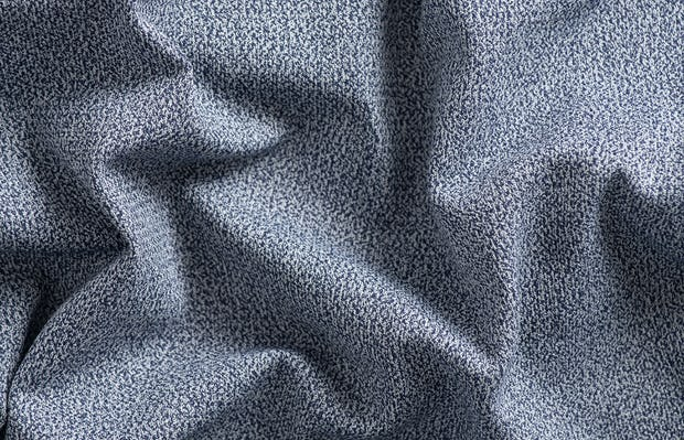 indigo static atlas fabric